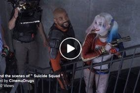 """Behind the Scenes of Filming """"Suicide Squad"""""""