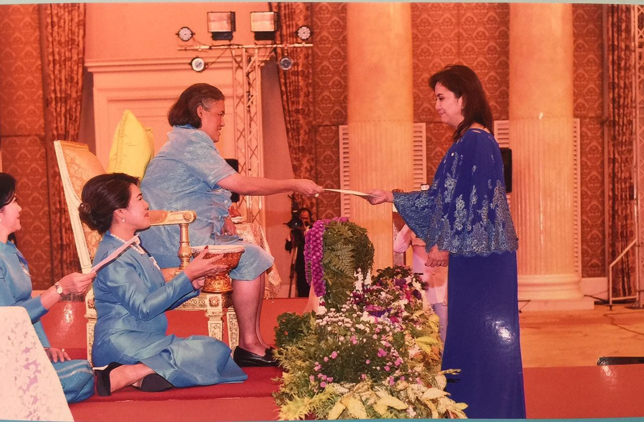 VP Leni Honored as Outstanding Woman by the Thai Government