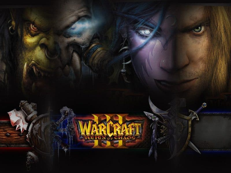 Warcraft III pc games 2000s