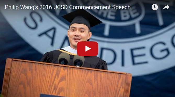 Philip of Wong Fu Production Gives Inspiring Commencement Speech