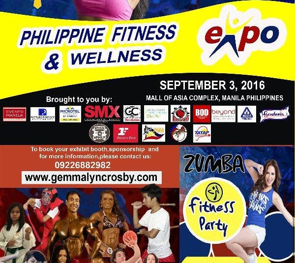 Gemmalyn Crosby Meet Your Idols in Fitness and Sports at the Philippine Fitness and Wellness Expo 2016!