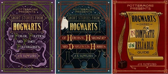 LOOK: J.K. Rowling to Release 3 New Harry Potter Books