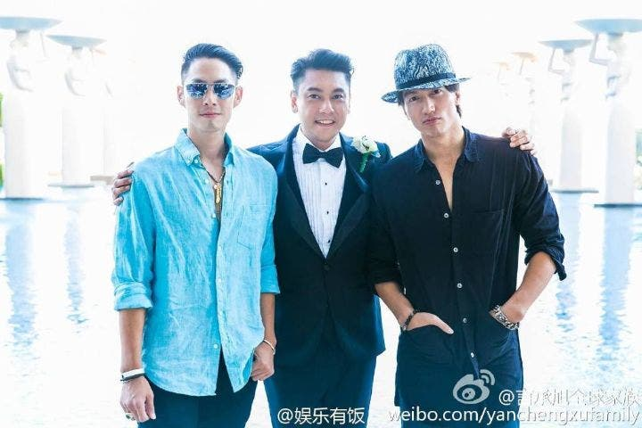 Meteor Garden Ken Chu of F4 Ties the Knot, Jerry Yan and Vaness Wu Spotted at the Wedding!