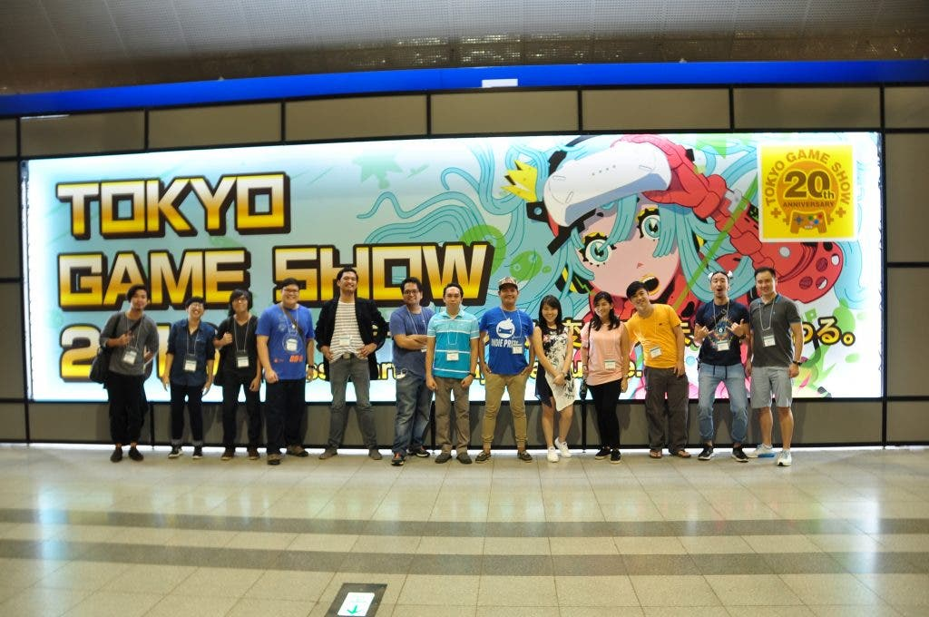 7 Pinoy Game Developers at Tokyo Game Show 2016