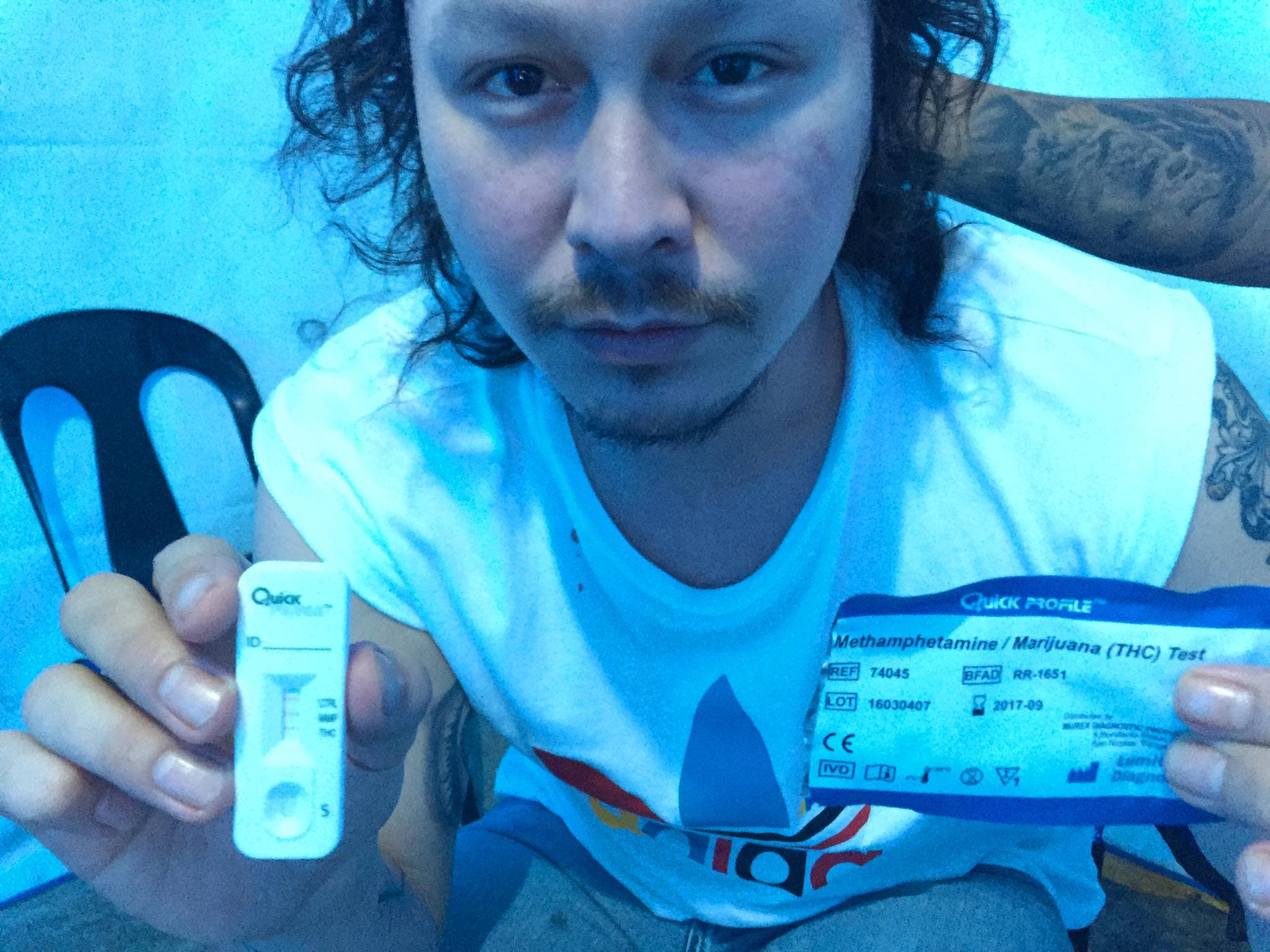 LOOK- Baron Geisler Conducts His Own Drug Test