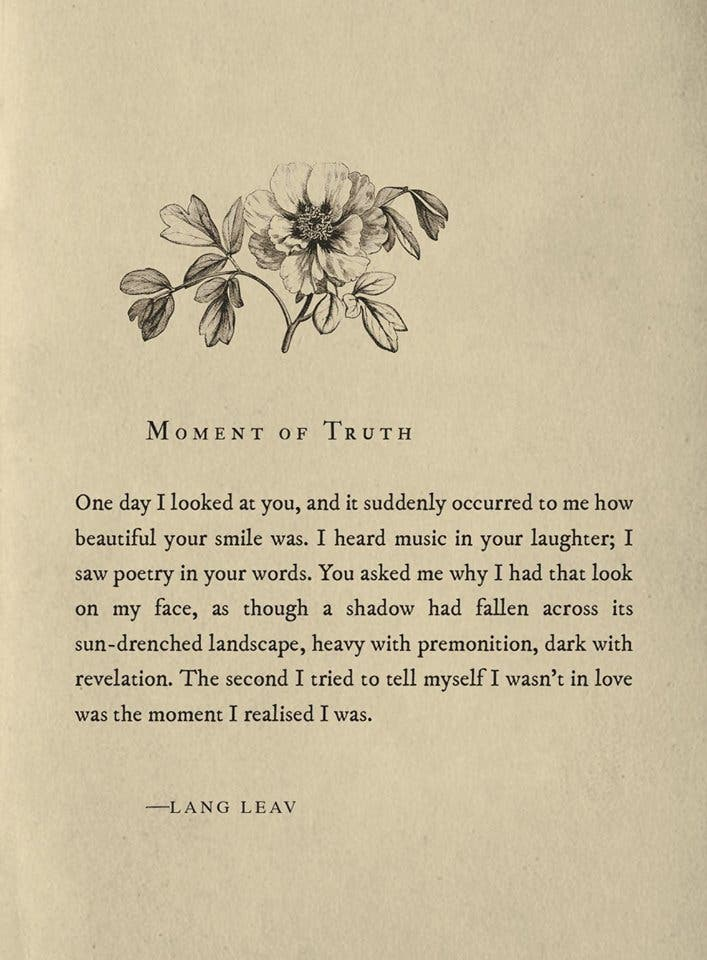 5 Lang Leav Poems and Stories that Summarizes your Love Life