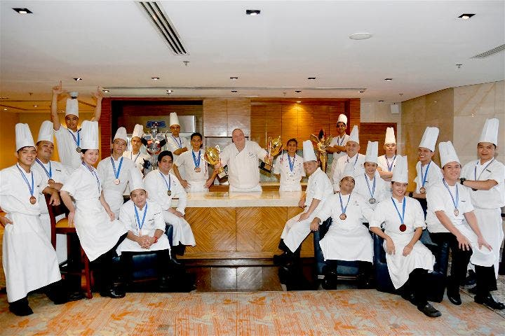 Marriott Hotel Manila is Philippine Culinary Cup's Over-all Champion, Back-to-Back!