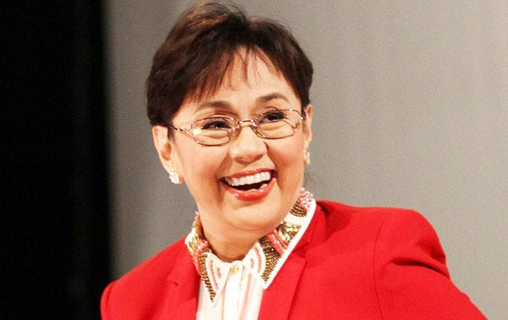 "Manila, Philippines - Cinemalaya Directors' Showcase Best Performance by a Lead Actress winner Vilma Santos during ""Ekstra"" press conference in Quezon City, northeast of Manila, on 08 August 2013. (Czeasar Dancel/NPPA Images)"