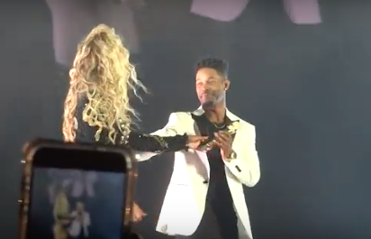 beyonce stopped concert for proposal
