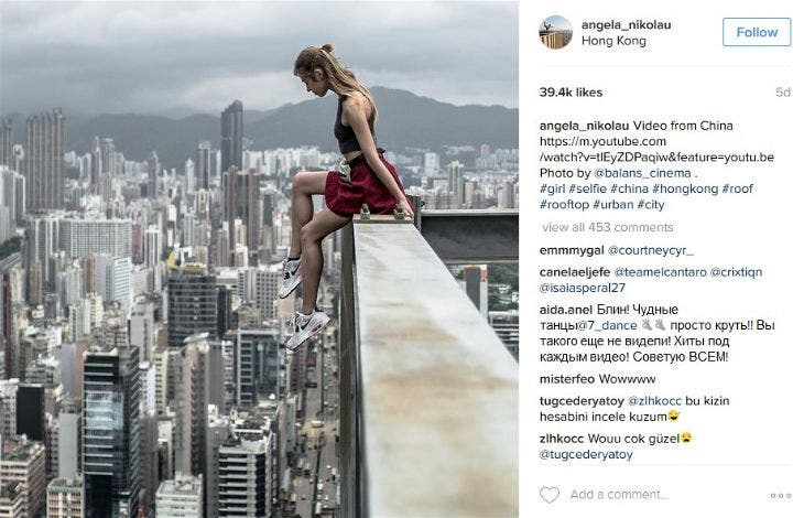 Russian Photographer Ups the Instagram Game with Death-Defying Selfies