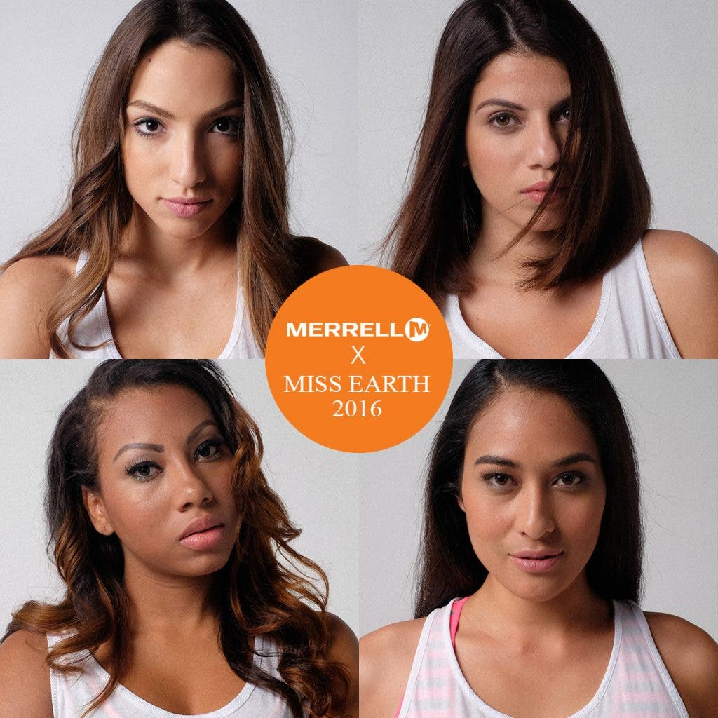Miss Earth 2016 Beauties Support Merrell's #PrettyStrong Campaign