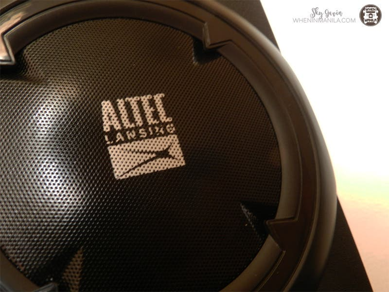 Altec Lansing Helix: Small in size but Big in sound