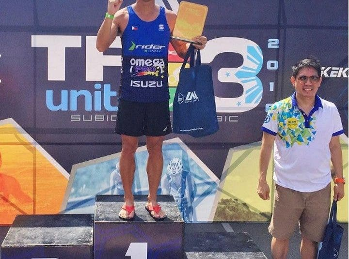LOOK: Triumphant Paul Jake Castillo at Tri United 3