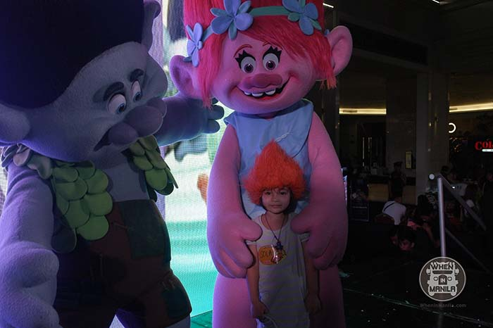 Resorts World's Halloween Kids' Fair Trolls Movie