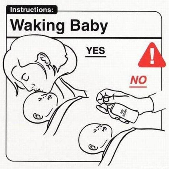 how to handle a baby