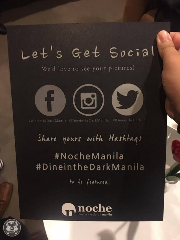 Noche Dine in the Dark
