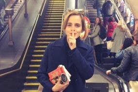 Emma Watson is Hiding Books with Handwritten Letters Inside for Fans to Find