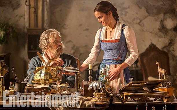 """Newly Released Photos of """"Beauty and the Beast"""" Starring Emma Watson"""