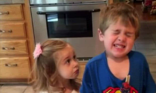 Kids' Hilarious Reactions When Parents Say They Ate All Their Halloween Candy