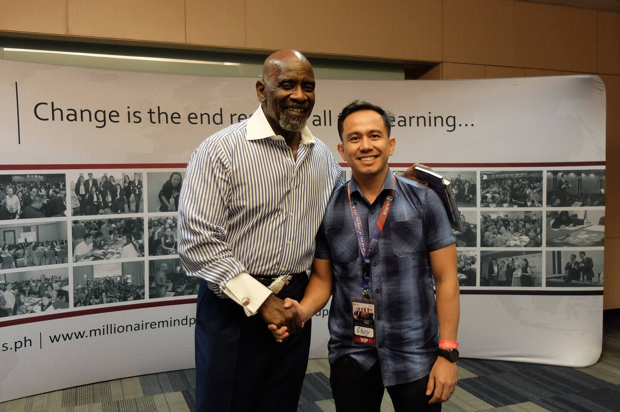 With Pursuit of Happyness Star Chris Gardner