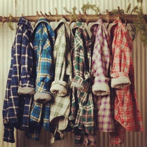 flannel-90s