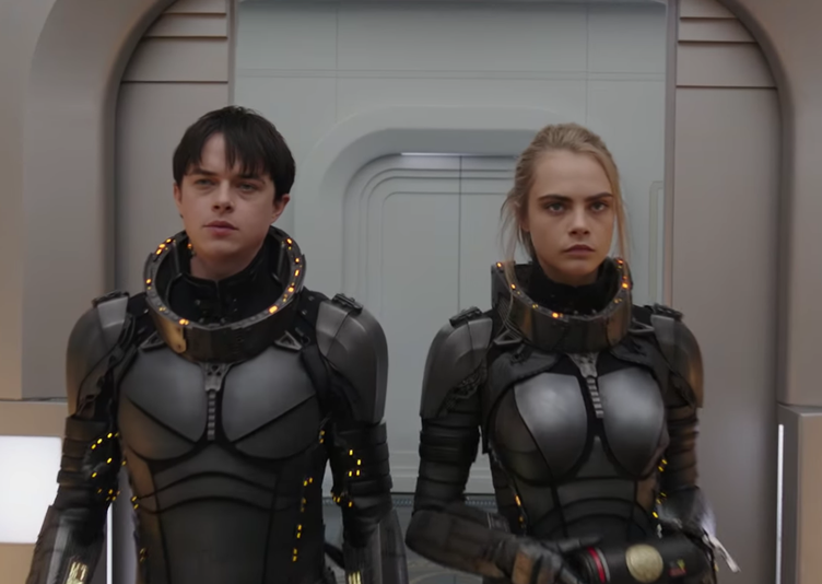 "Cara Delevingne Stars in Sci-Fi Action Film ""Valerian and the City of a Thousand Planets"""