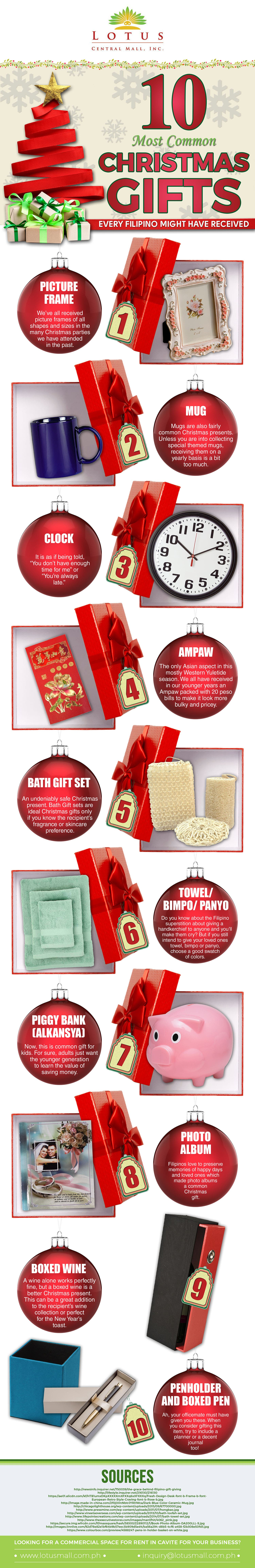 most-common-xmas-gifts