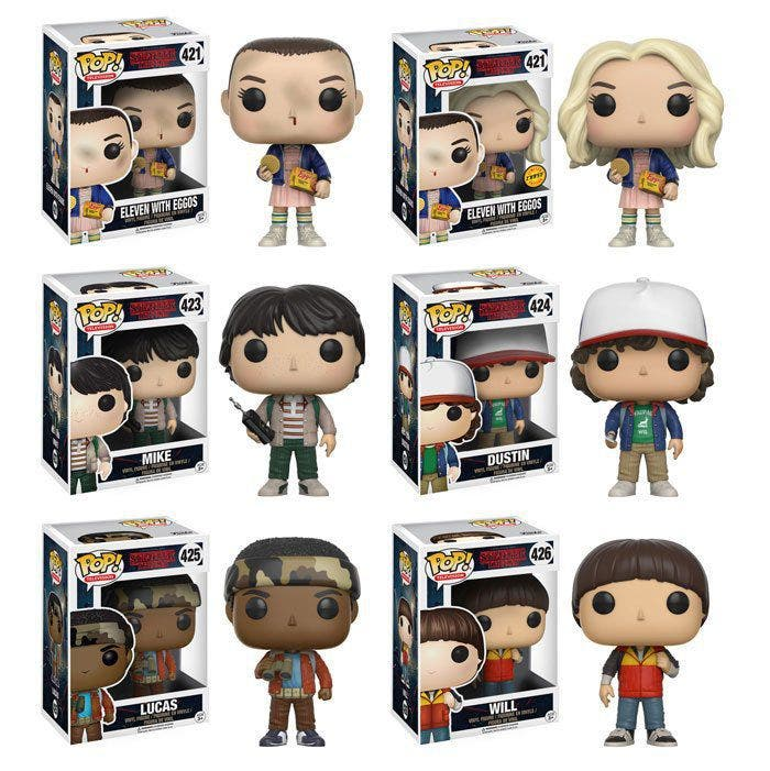 Stranger Things Funko Pops Are Now A Reality When