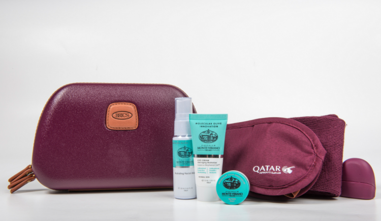 Business Class amenity kits for women