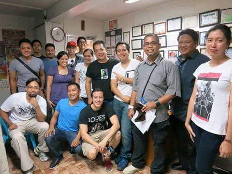 The voices behind Transformers Human Alliance with their voice director Pocholo The VoiceMaster Gonzales