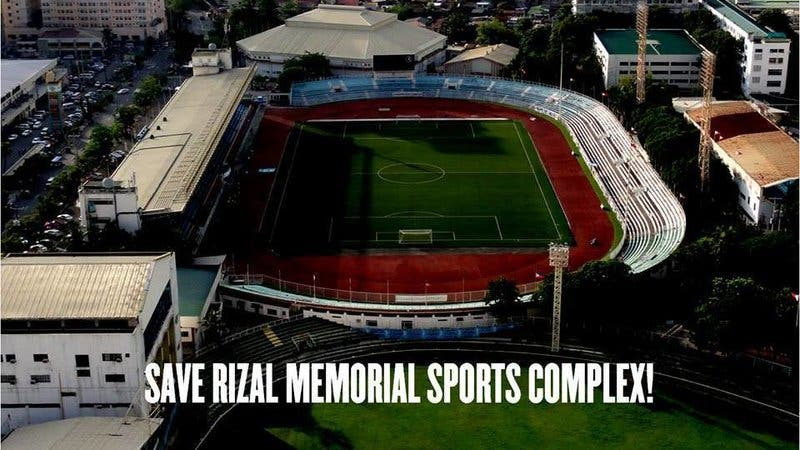 Save Rizal Memorial Sports Complex