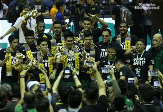 La Salle fulfills year long expectations after sweeping Ateneo to win UAAP title