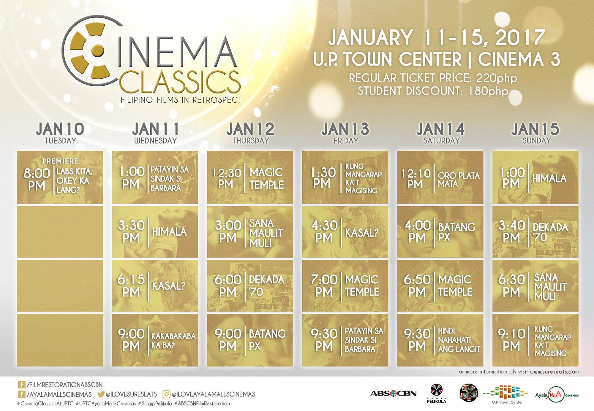 up-town-center-classic-film-showing