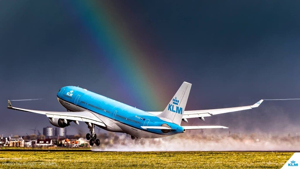 KLM topped the list of FlightStats as the best performing international airline