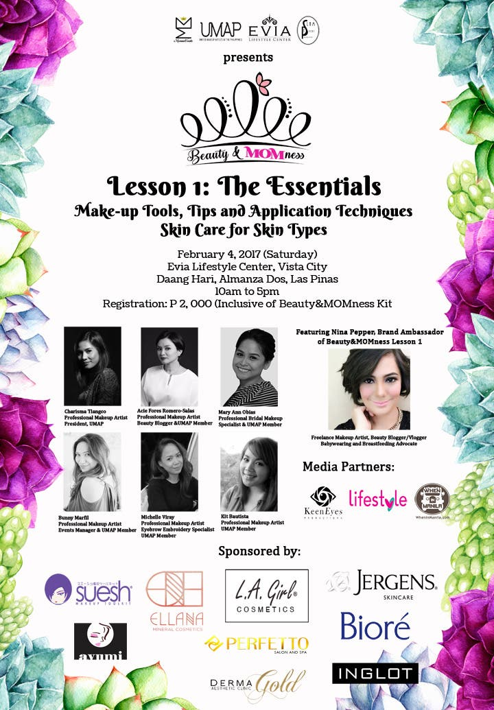 Beauty&MOMness Official Event Poster