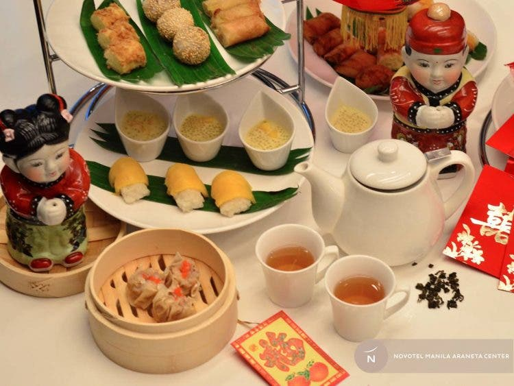 ndulge in sweet and savory Chinese treats for Php 1,188 nett for two and Php 1,888 nett for four from January 25-29.
