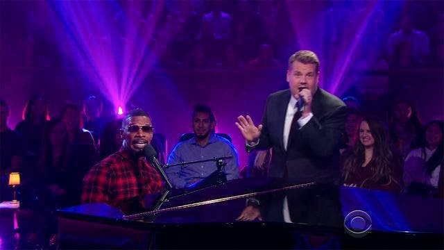 Jamie Foxx James Corden