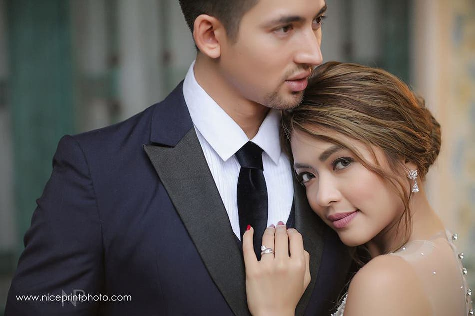 LOOK- Bangs Garcia Looks Beautiful in Prenup Shoot with Fil-Brit Fiance 3