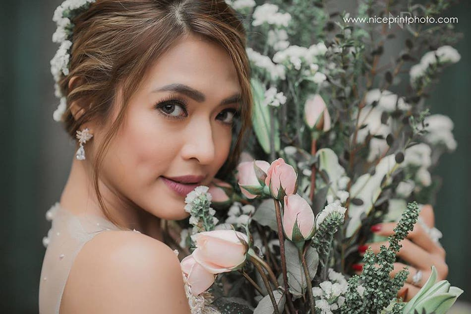 LOOK- Bangs Garcia Looks Beautiful in Prenup Shoot with Fil-Brit Fiance 4
