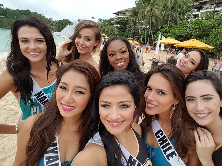 LOOK: Miss Universe Candidates Stun in Boracay and the Governor's Ball 1