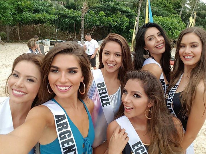 LOOK: Miss Universe Candidates Stun in Boracay and the Governor's Ball 10