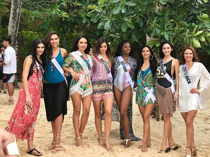 LOOK: Miss Universe Candidates Stun in Boracay and the Governor's Ball 3