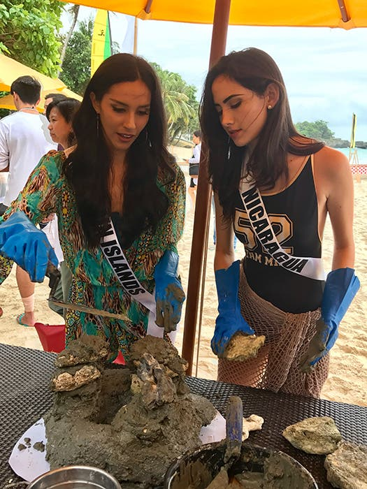 LOOK: Miss Universe Candidates Stun in Boracay and the Governor's Ball 5