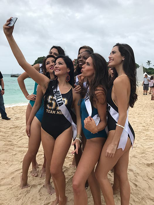 LOOK: Miss Universe Candidates Stun in Boracay and the Governor's Ball 8