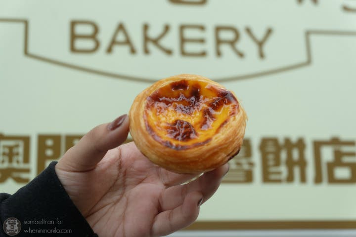 Macau Egg Tart Battle Lord Stow's Bakery