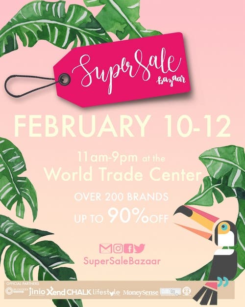 Wheninmanilaootd 10 Male Fashion Bloggers In The: SHOP UP TO 90% OFF AT THE SUPERSALE BAZAAR SUMMER SALE FEB