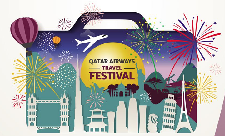 qatar airways travel festival