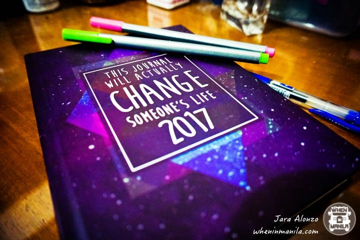 change your life planner 2017