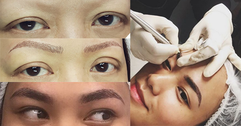 Eyebrow tattoo Microblading Ron Peña Six Times Closer