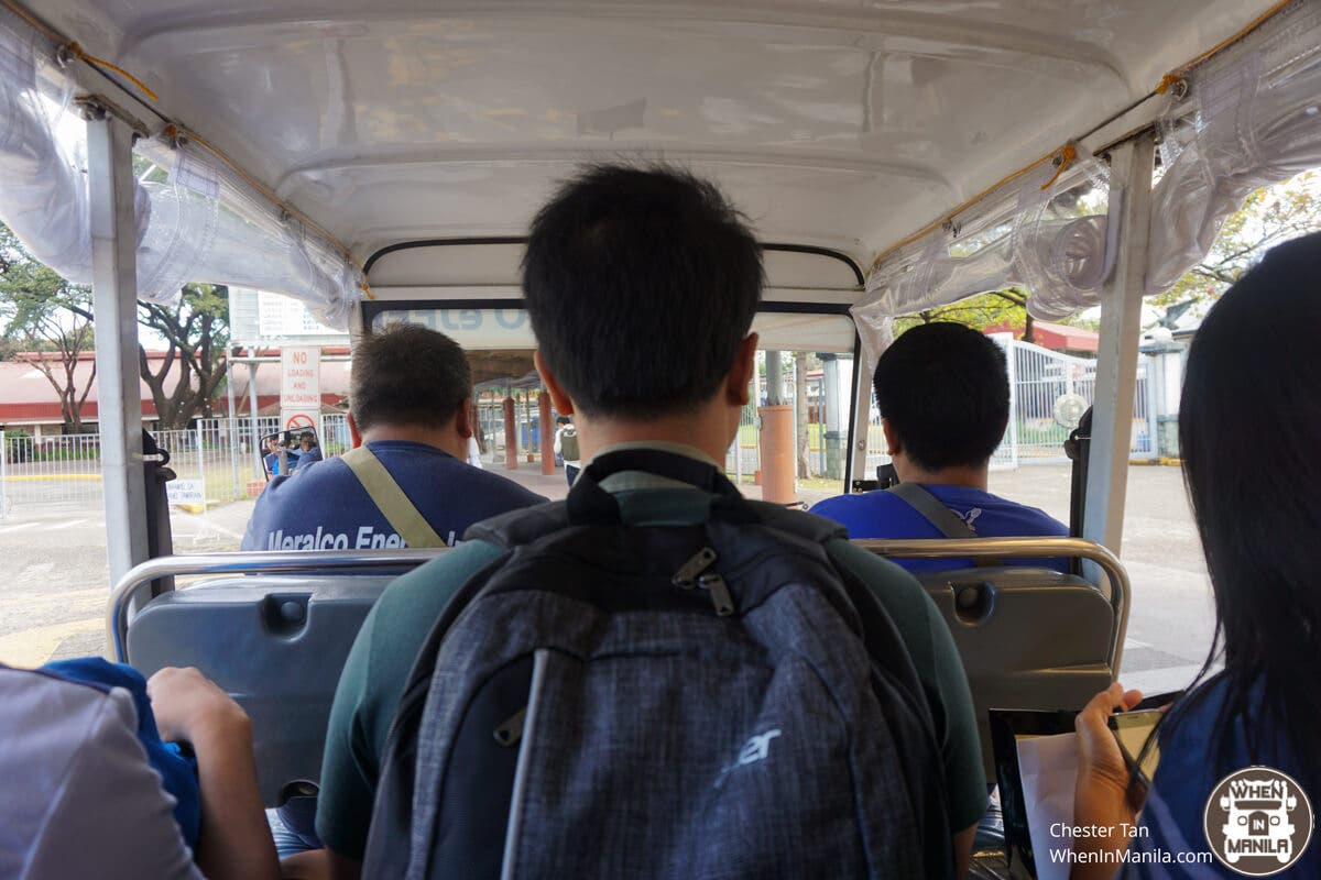 Up and Down the Hill: The Atenean Commute - When In Manila